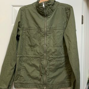 Old Navy olive green utility jacket